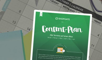 Interface: Content-Plan 2018