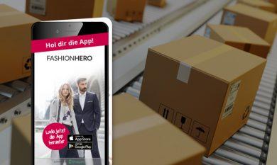 Interface: Paket-Beilage zur App-Bewerbung