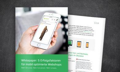Interface: 5 Erfolgsfaktoren für mobil optimierte Webshops