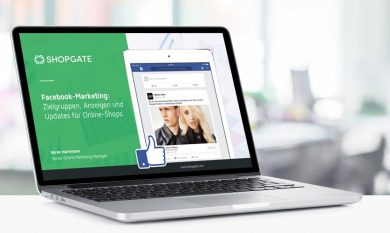 Interface: Facebook-Marketing