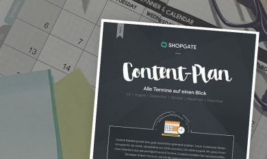 Interface: Gratis Content-Plan für 2018/2