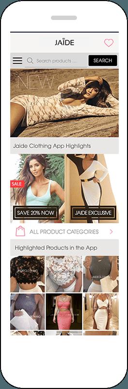 Gestalten Sie coole mobile Shops