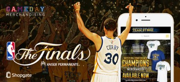 Shopgate ist mit den Golden State Warriors im NBA-Finale!