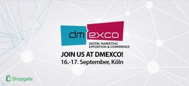 Treffen Sie Shopgate auf der DMEXCO 2015 in Köln