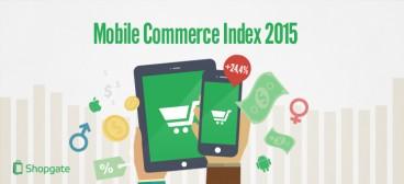 Infografik: Mobile Commerce Index 2015