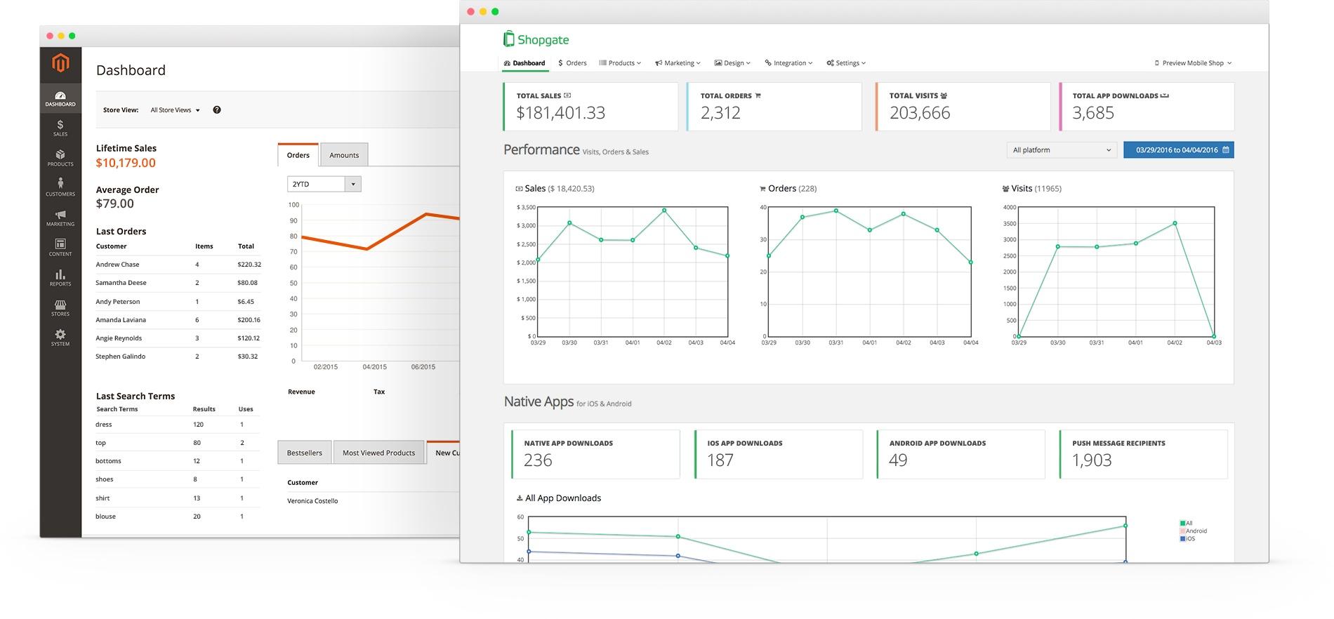 Magento 20 mobile app shopgate magento 20 ccuart Images