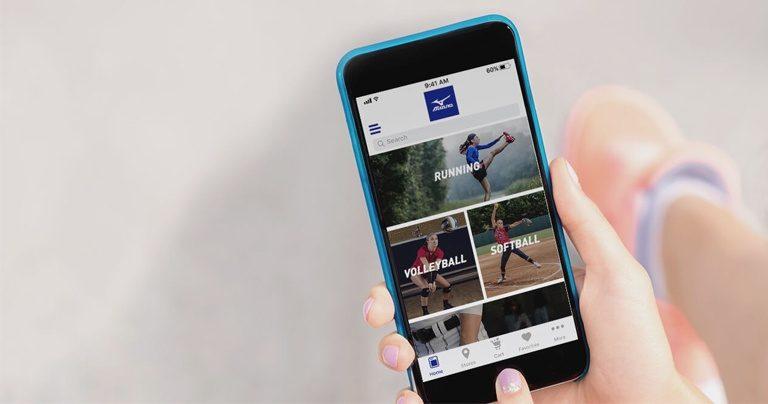 Mizuno launcht neue Sportswear-App