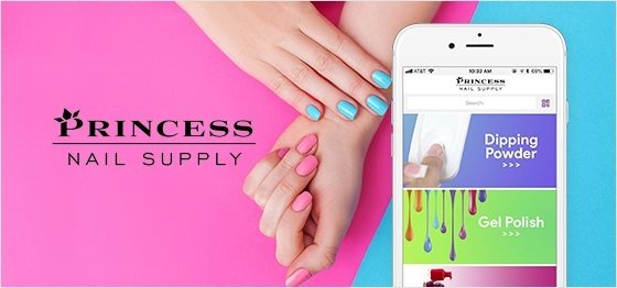 Princess Nail Supply Polishes Off a B2B Mobile Strategy