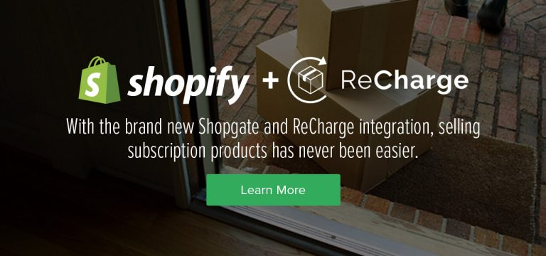 The Shopgate + ReCharge Integration Has Arrived
